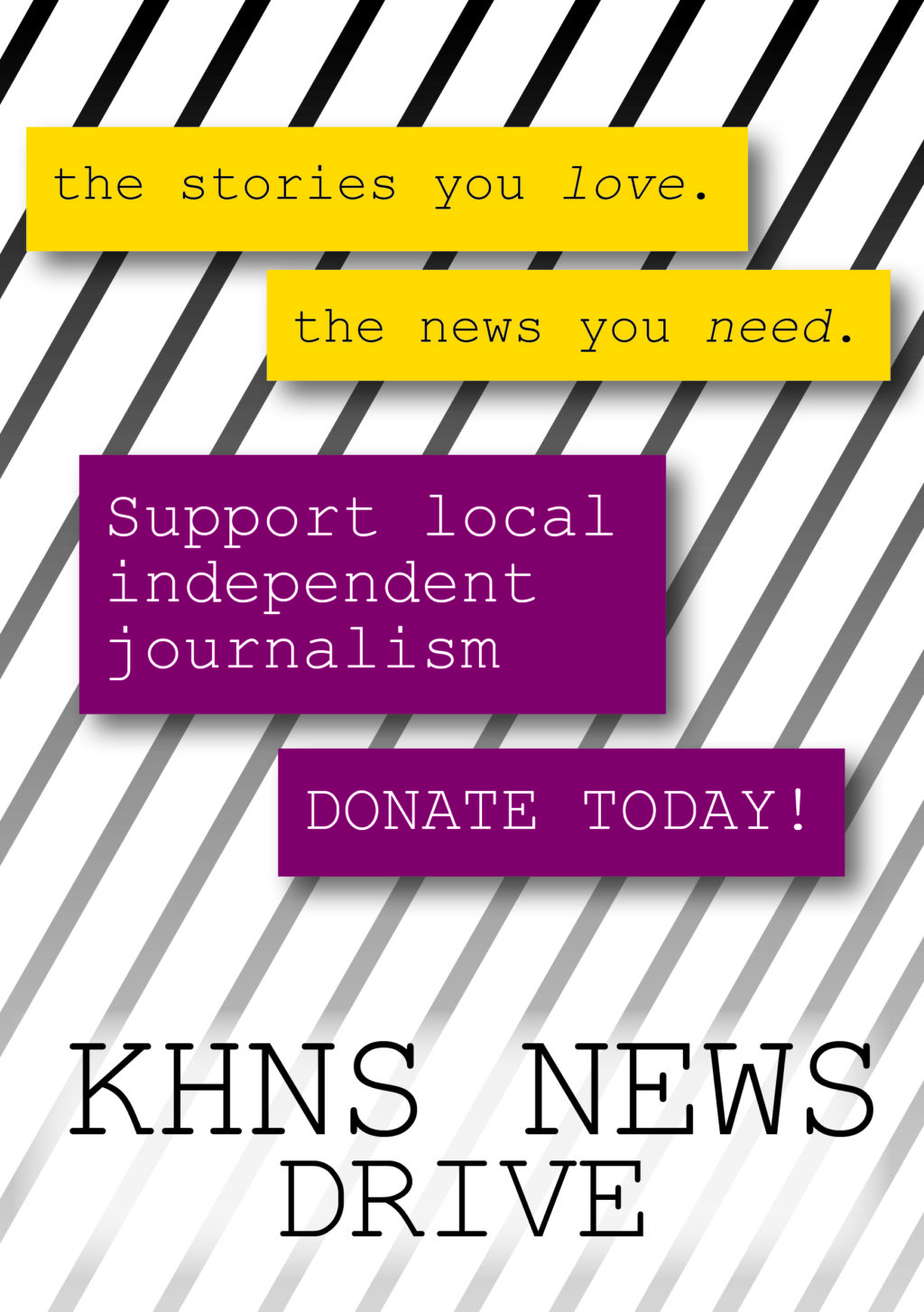 Support KHNS News