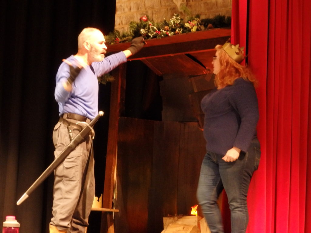 The Lion in Winter plays out on stage in Haines