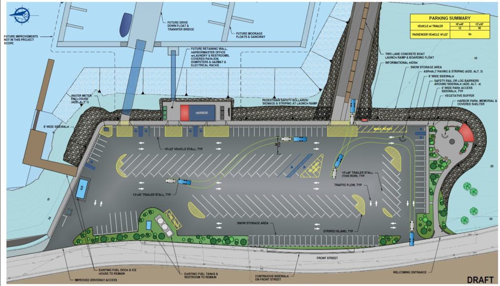 Haines Assembly advances conceptual design for second phase of harbor expansion project