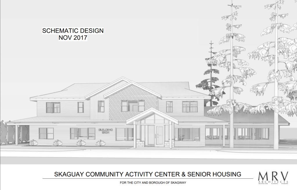 Skagway Senior housing and community center designs presented to assembly