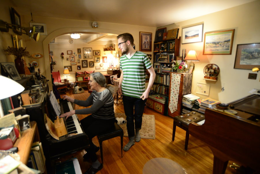 Young Haines composer gets a hand (or two) over the holidays