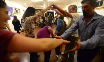 Haines' homegrown square dance caller steps up