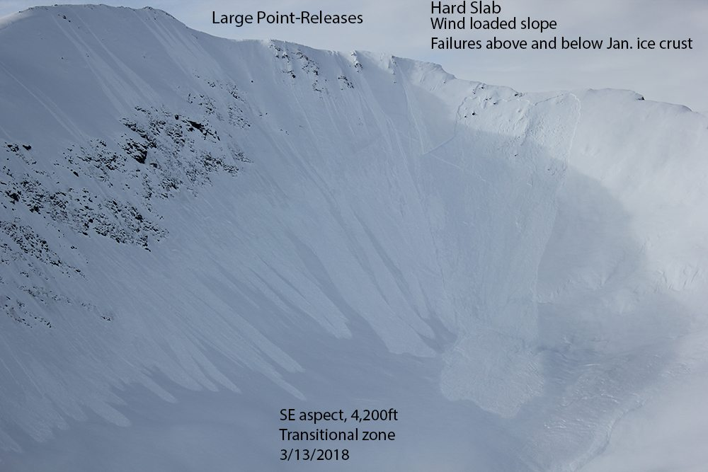 Snow safety improves near Haines after large avalanche cycle