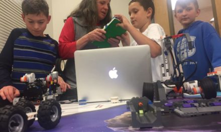 Haines Lego League scrimmages in Skagway