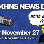 It's time for the KHNS News Drive