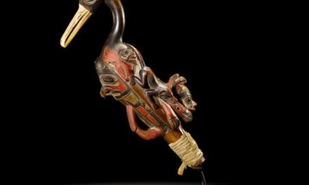 Centuries-old rattle carved by Tlingit artist sells for $500,000