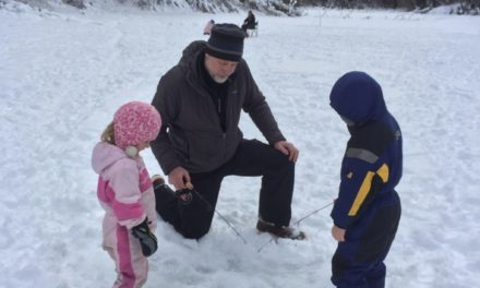 ADF&G gets Haines kids hooked on ice fishing