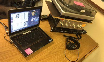 New DJ Listening Station