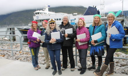 Haines Women's A Cappella Chorus welcomes Tazlina to the Upper Lynn Canal