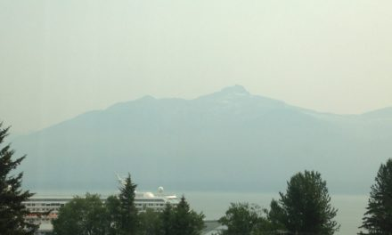 Smoke from Yukon wildfires blankets the Upper Lynn Canal