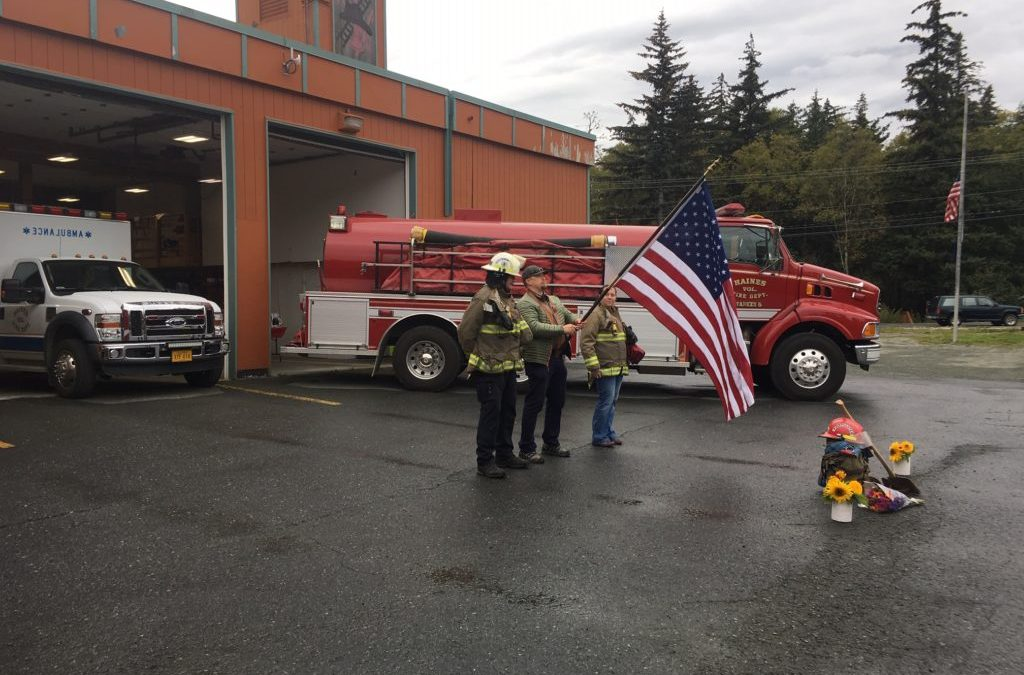 Haines first responders hold 9-hour 9/11 vigil