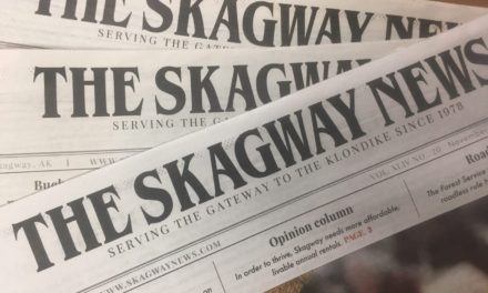 Skagway's local newspaper is up for grabs, restrictions apply